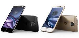 Moto Z 32GB - SIM Free in Black/Silver or White/Gold £299.95 with 2 Years Guarantee @ John Lewis (Free Delivery or C&C)