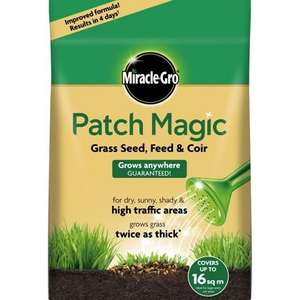 Miracle Gro patch magic 3.6kg £4.99 at wickes