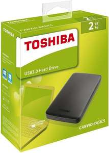 Toshiba Canvio Basics 2TB @ amazon £69.98 delivered