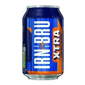 6 cans Irn Bru Xtra for £1 - Poundland