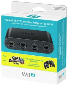 Gamecube controller Adapter for Wii U/PC - £8.99 @ Argos (Free C&C)
