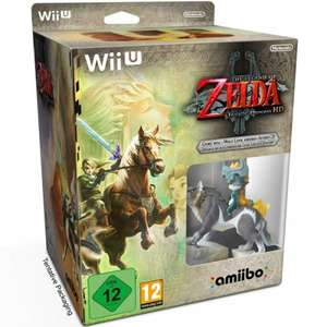 Legend of Zelda Twilight Princess HD with Wolf Link amiibo Limited Edition @ GAME £34.39