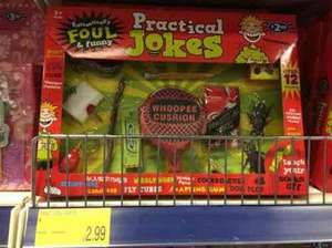 B&M practical joke set - £2.99