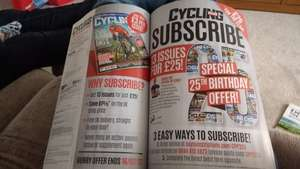 Cycling Plus subscription 61% off!