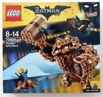 LEGO Batman Movie 70904 Clayface Splat Attack Set £15 (RRP. £29.99) Instore @ Asda