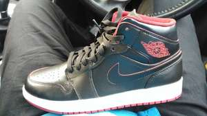 Nike Air Jordan Mid 1 - Royal Quays - Nike Outlet - £30