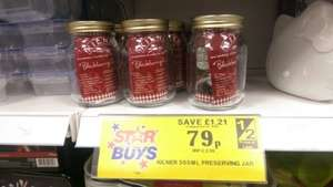 500ml Kilner preserving Jars 79p at Home Bargains Less than half price