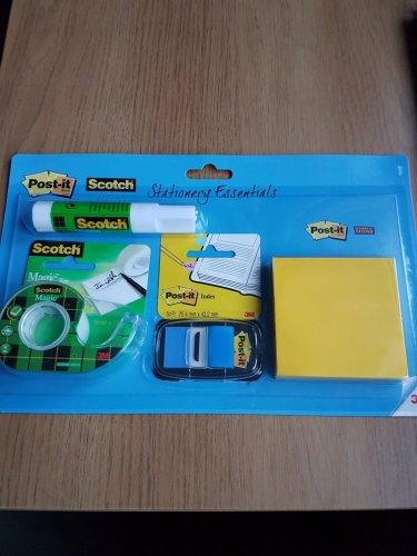 Scotch stationery essentials. Home Bargains for £0.99