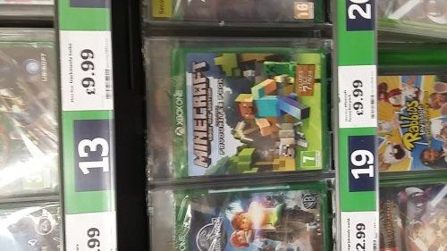 Minecraft Xbox One £9.99 Instore & Online @ Sainsburys
