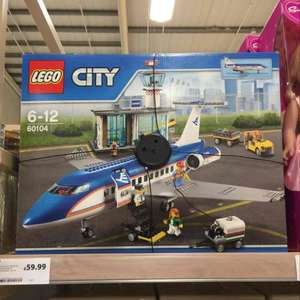 lego city airport passenger terminal 60104 Tesco sale