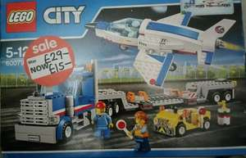 Lego 60079  - City Space Training Jet Transporter £15 instore Asda