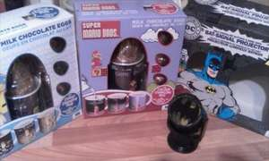 colour changing mugs&egg/super mario/minions/batman projector light at B&M