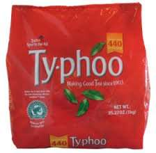 Typhoo 440 teabags £3.99 in store Lidl