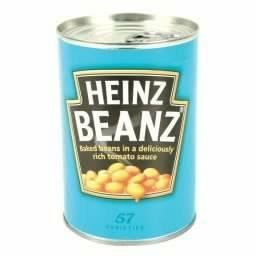 Heinz baked beans 415g 25p Poundstretcher
