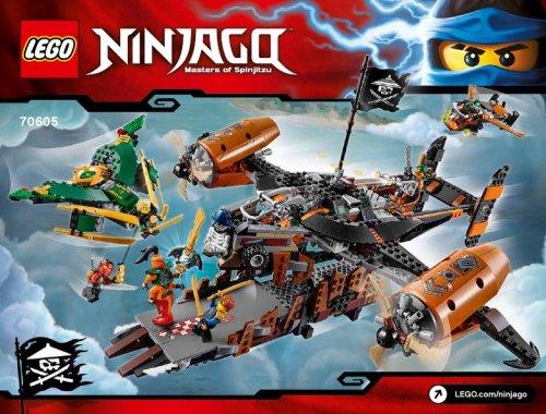 Lego Ninjago Misfortune's Keep (70605) £33.99 @ Tesco Direct