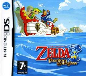 Legend of zelda phantom hourglass (DS) £9.99 used @ Grainger games