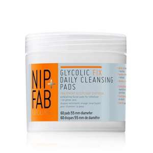 Nip + Fab Glycolic Fix Exfoliating Facial Pads x60 £5 at Superdrug