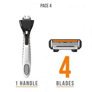 dorco deal of todayness. pace 4 handle + 4 blades - £3.99 @ Dorco