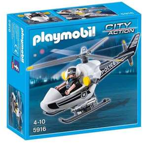 Playmobil City Action Police Helicopter £8.99 Prime / £12.98 non Prime @ Amazon