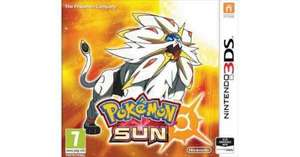 Pokemon sun/moon (3DS) £27.95 @ the game collection