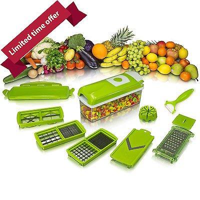 12pcs Kitchen Tool Set Super Slicer Plus Vegetable Fruit Peeler Dicer Cutter Chopper - £9.99 @ eBay (sold by pricebuster_uk1)