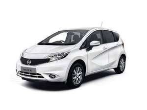 Nissan Note Acenta Premium 1.2 petrol, Personal Contract Lease - 3 yrs, 15,000 miles per year - 158.34 per month plus 3 months initial rental of 475.02 & admin fee of 198 @ NATIONWIDE VEHICLE CONTRACTS £6214.92