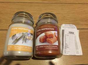 Yankee candles Home Inspirations 538g £3.00 @ Tesco instore (Coventry)