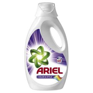 Ariel Colour and Style 2L 40 washes £4.50 @ Wilko was £10