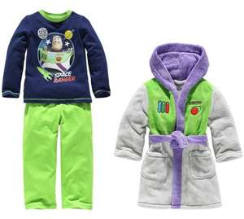 Buzz Lightyear Robe and Pyjamas Set - 3-4 Years £6.99 @ Argos