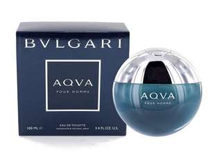 Bulgari Aqua Pour Homme Eau de Toilette - 100 ml - £29.99 Sold by Fragrance New York and Fulfilled by Amazon.