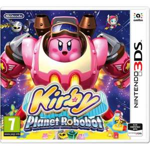 Kirby Planet Robobot 3DS £19.99 @ Tesco