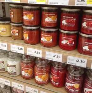 Yankee candles many reduced large £3, medium £2, small £1 @ Tesco instore.