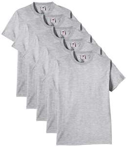 Fruit of the Loom Men's Heavy Multipack Of 5 T-Shirts £9.99 @  absolutecult / EBAY DELIVERED also BUY 3, GET 1 FREE (add 4 to basket) (working out £1.50 each delivered)