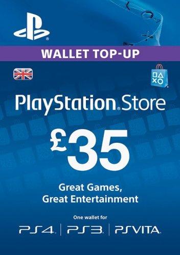 Playstation Network Card - £35 (PS Vita/PS3/PS4) £30.30 (Using Code) @ CDKeys