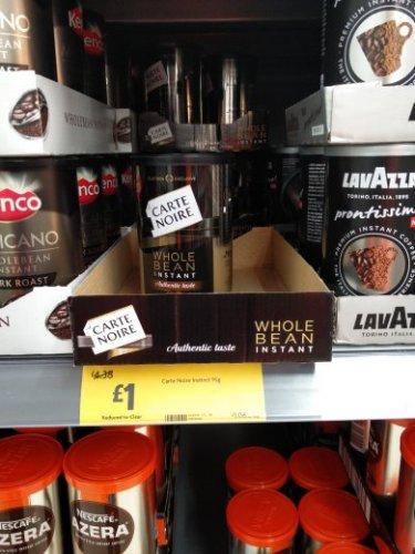 carte noire instant coffee - £1 instore @ Morrisons