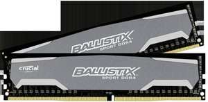 Crucial Ballistix Sport 16GB 2400 (2x8) DDR4 @ Amazon - £70.54 - Prime exclusive