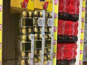 16 pack ferrero rocher £2 instore at poundland