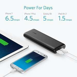 Anker PowerCore 20100 - Ultra High Capacity Power Bank with Most Powerful 4.8A Output, PowerIQ Technology for iPhone, iPad and Samsung Galaxy and More (Black) £23.79 @ Sold by AnkerDirect and Fulfilled by Amazon. (Lightning Deal)