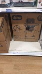 High chair Chico £25 - Instore at Tesco
