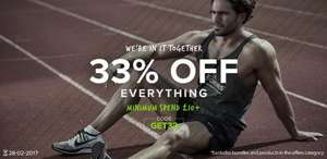 33% off everything at bulkpowders.co.uk