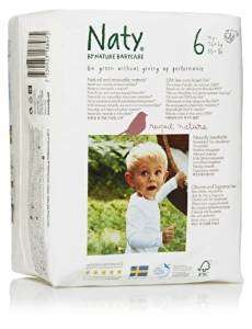 4 Packs of Nature Babycare Size 6 Nappies (4 x 18 nappies) £14 (half price) Prime / £18.75 Non Prime @ Amazon