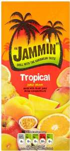 Jammin Tropical / Fruit Punch Juice Drink 1 Litre was 89p per Litre now (BOGOF) @ Tesco
