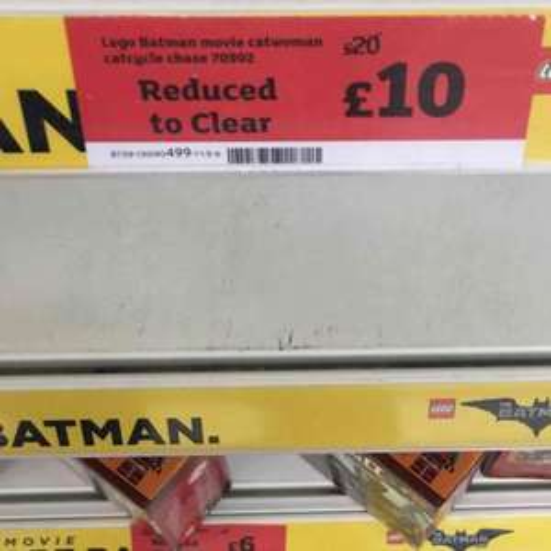 Lego batman movie 70902 set half price £10 @ Sainsbury's moor Allerton Leeds