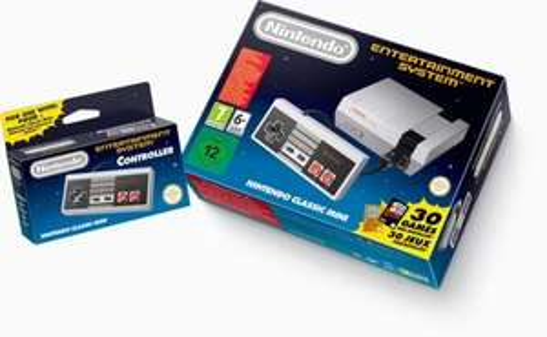 Nintendo Classic Mini: Nintendo Entertainment System - In Stock - £49.99 @ Amazon