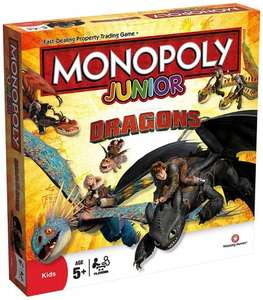 Dragon Monopoly Jr at Amazon via Champion Toys £18.99 (Prime) £23.74 (Non Prime)