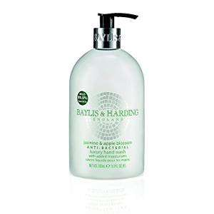 Baylis & Harding Jasmine & Apple Blossom Anti Bacterial 500ml Hand Wash 96p S&S or add on item