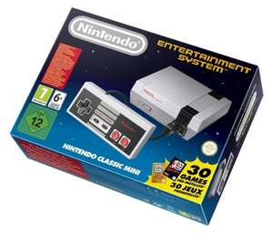 Nintendo Classic Mini: Nintendo Entertainment System in stock £49.99 @ Amazon