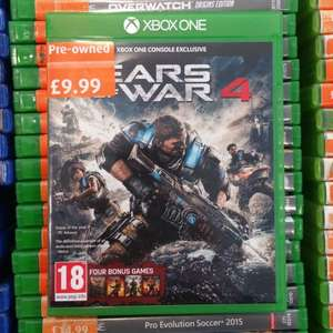 XBOX One - Gears of War 4 £9.99 & Dishonored Definitive edition £3.99 - Preowned @ Smyths Beckton Store