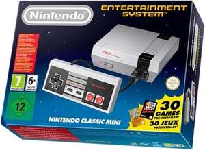 Nintendo Classic Mini in stock at Amazon @ RRP £49.99