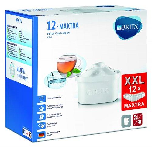 BRITA MAXTRA Water Filter Cartridges - Pack of 12 | £2.50 per cartridge